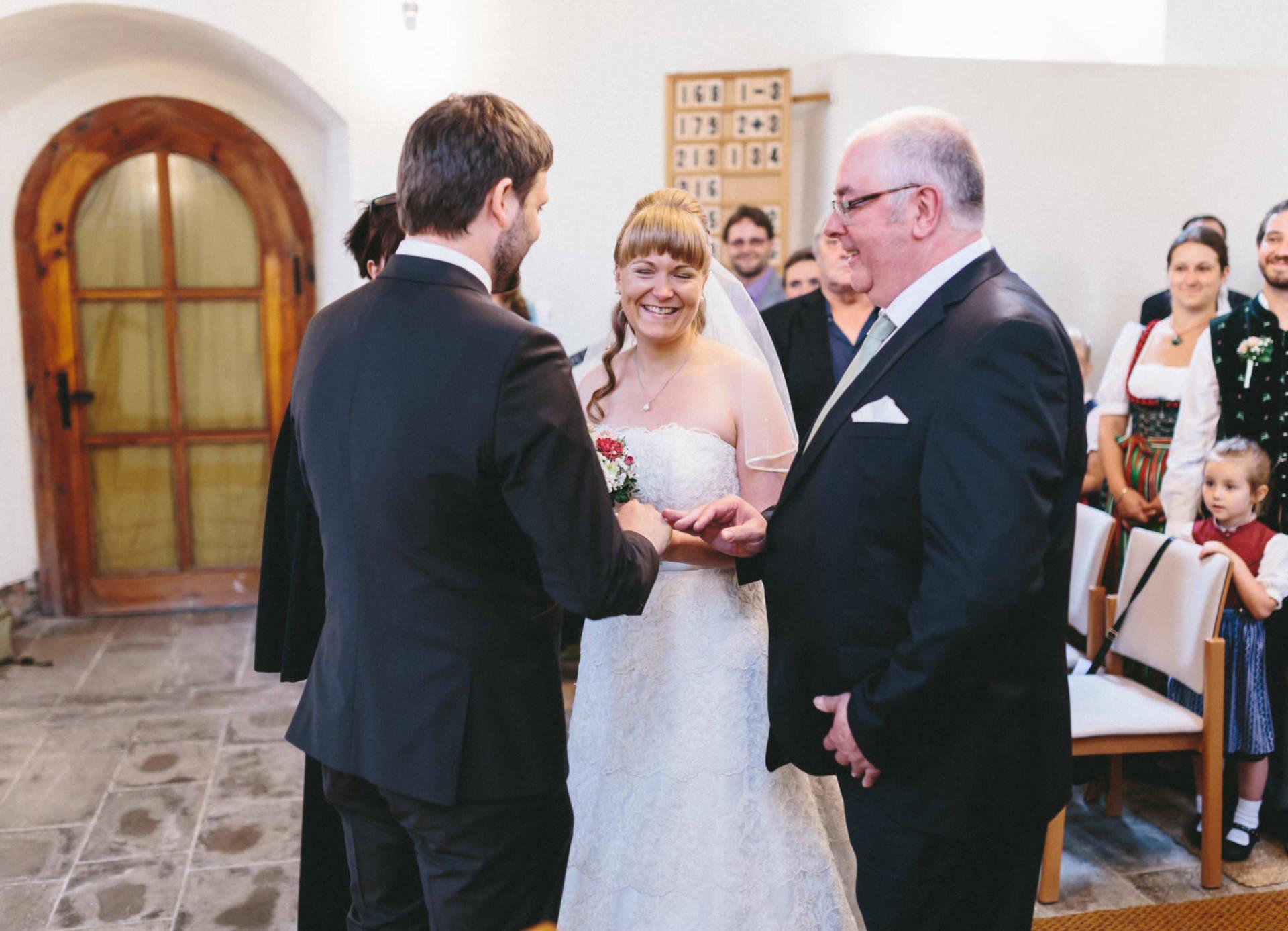 Bayrische Hochzeit 09 - Bayrische Jagdhüttenhochzeit in Thüringen