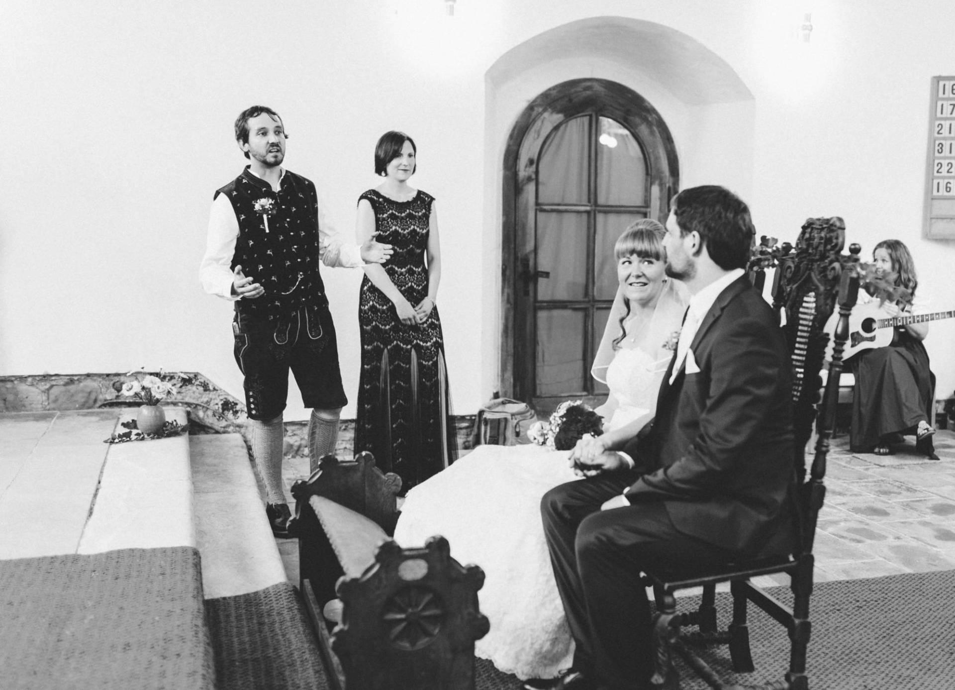 Bayrische Hochzeit 16 - Bayrische Jagdhüttenhochzeit in Thüringen
