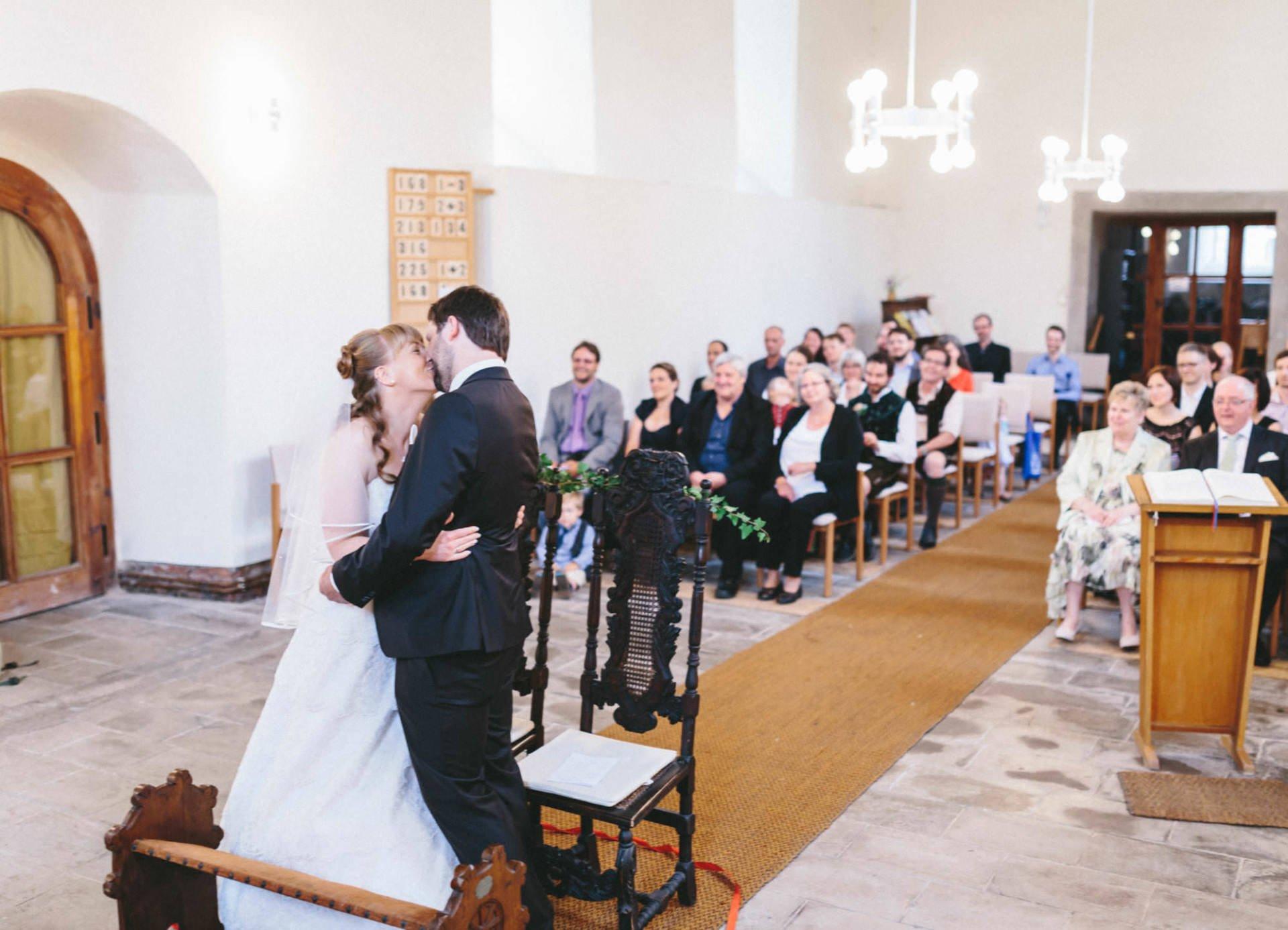 Bayrische Hochzeit 27 - Bayrische Jagdhüttenhochzeit in Thüringen