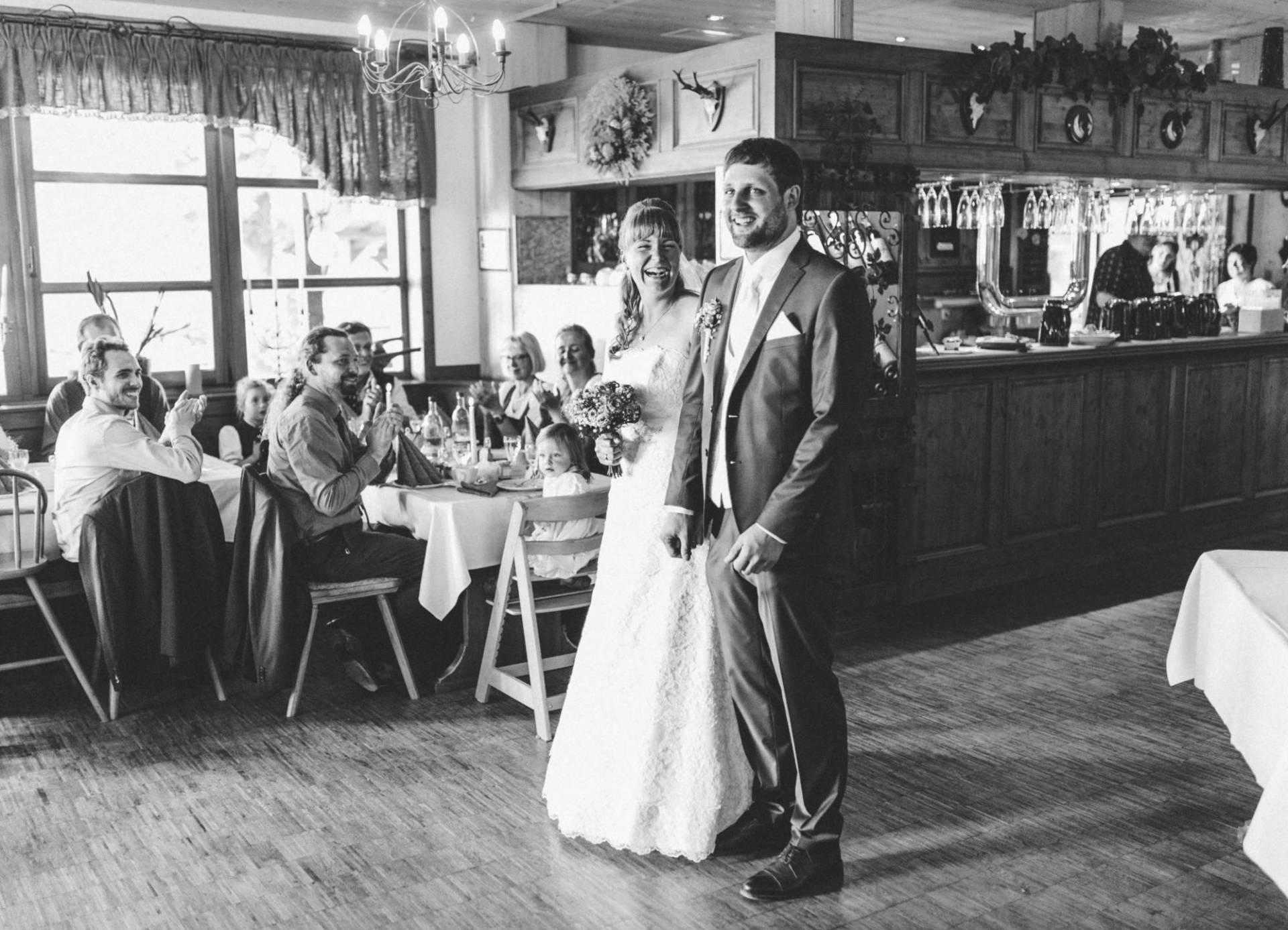 Bayrische Hochzeit 36 - Bayrische Jagdhüttenhochzeit in Thüringen
