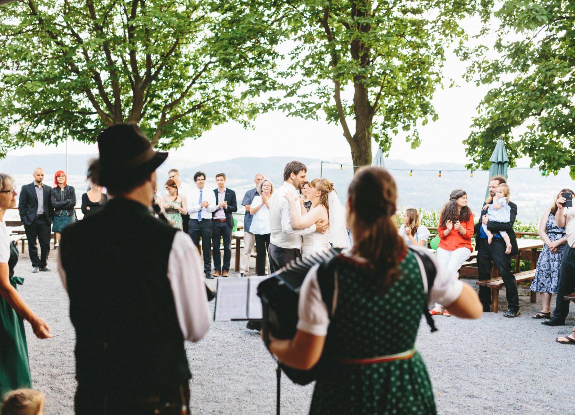 Bayrische Hochzeit 42 - Bayrische Jagdhüttenhochzeit in Thüringen