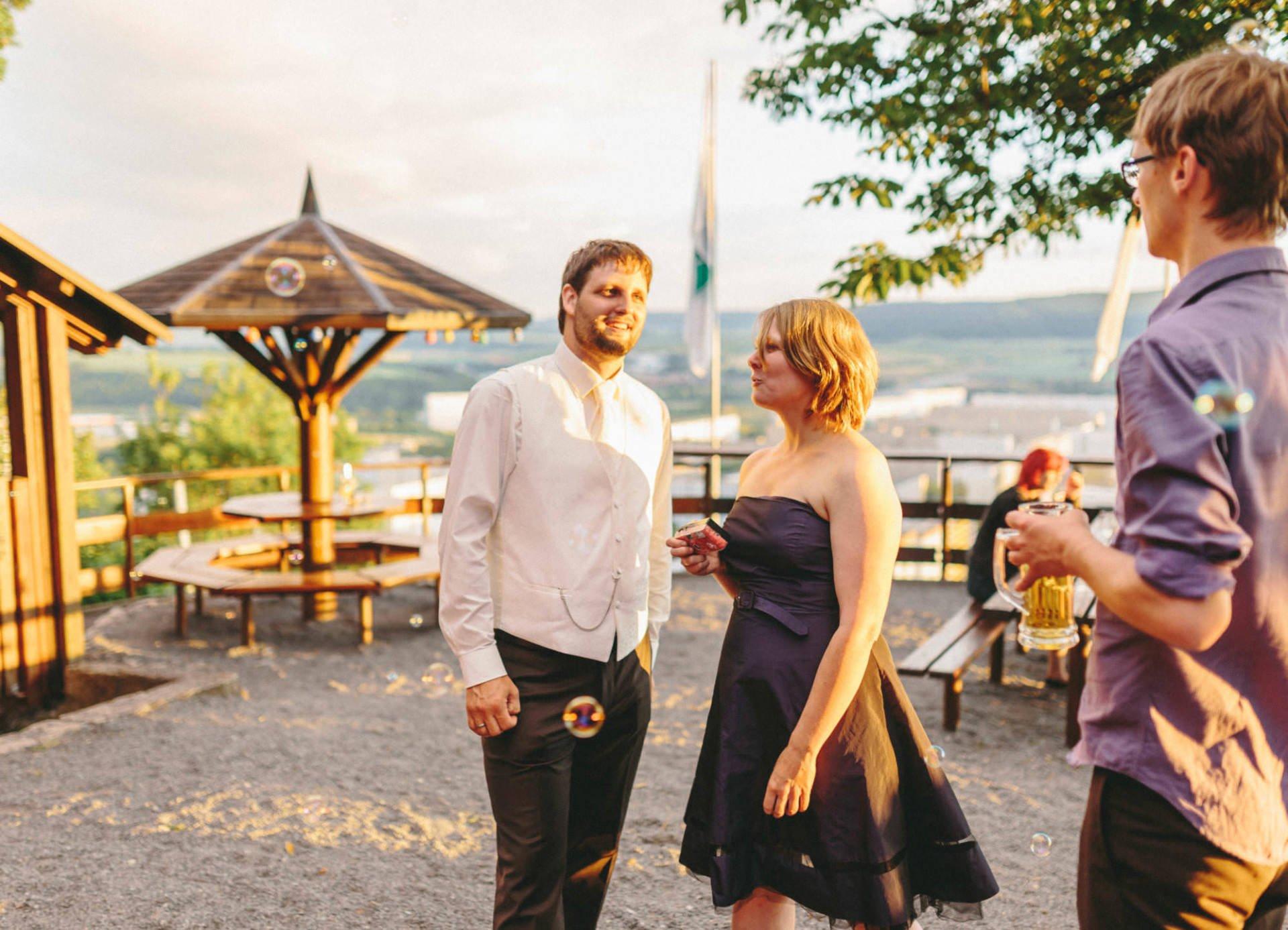 Bayrische Hochzeit 47 - Bayrische Jagdhüttenhochzeit in Thüringen