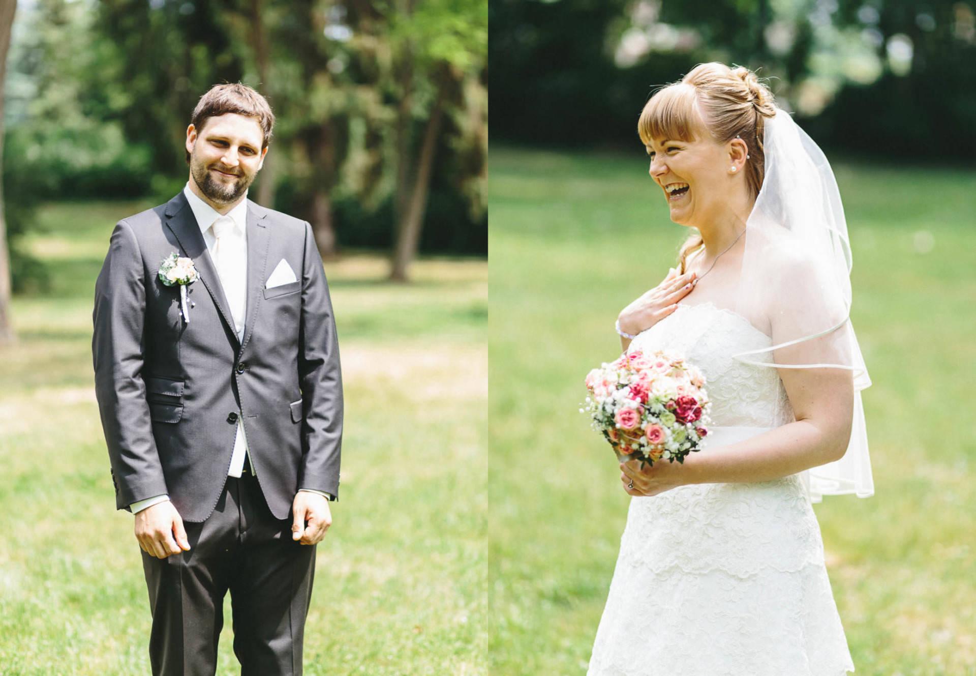 Bayrische Hochzeit Collage 1 - Bayrische Jagdhüttenhochzeit in Thüringen