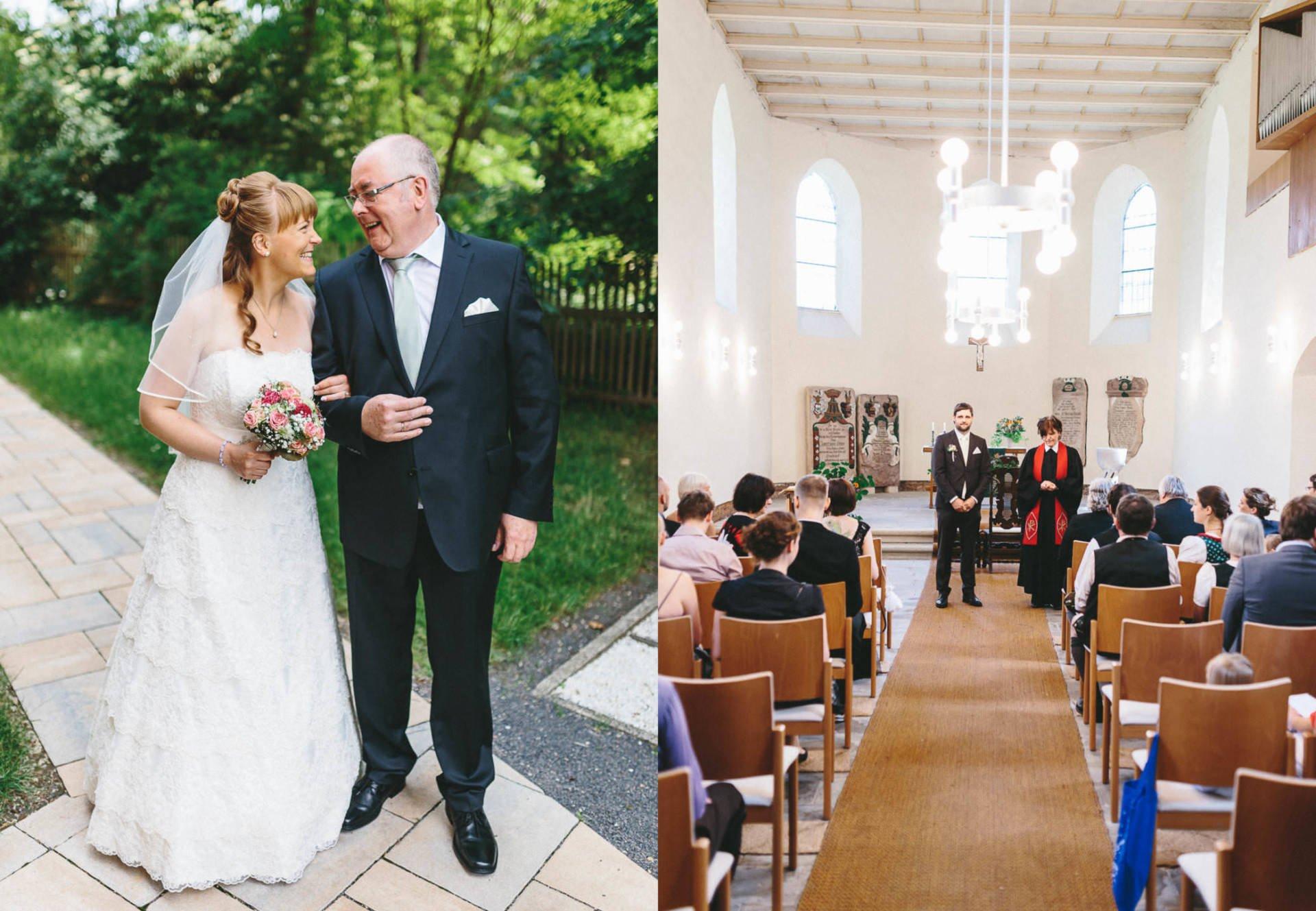 Bayrische Hochzeit Collage 2 - Bayrische Jagdhüttenhochzeit in Thüringen