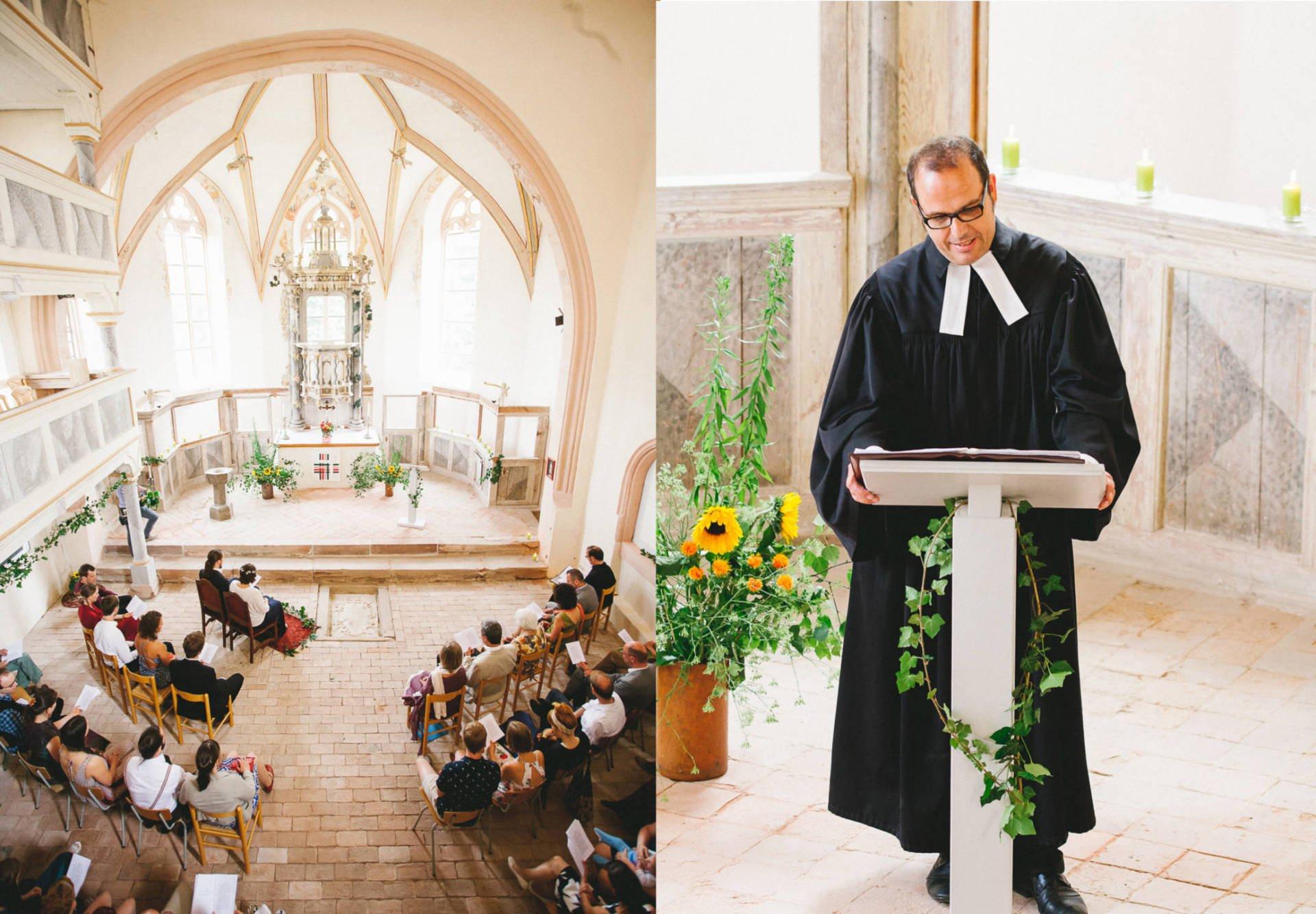 Hochzeitsreportage | Hochzeit in Kreuzgewölbe Schöngleina | 6