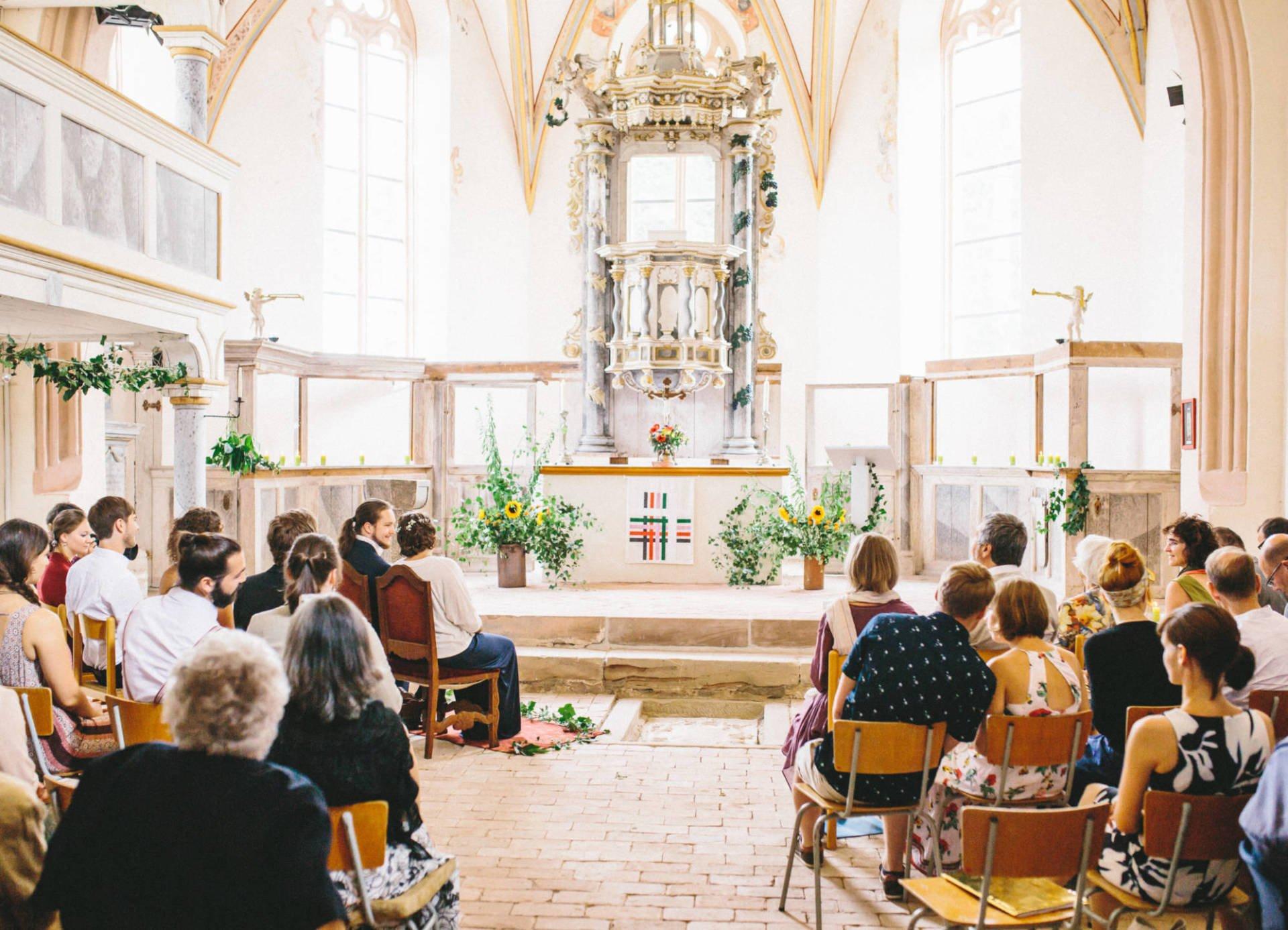 Schöngleina 02 - Hochzeit in Kreuzgewölbe Schöngleina