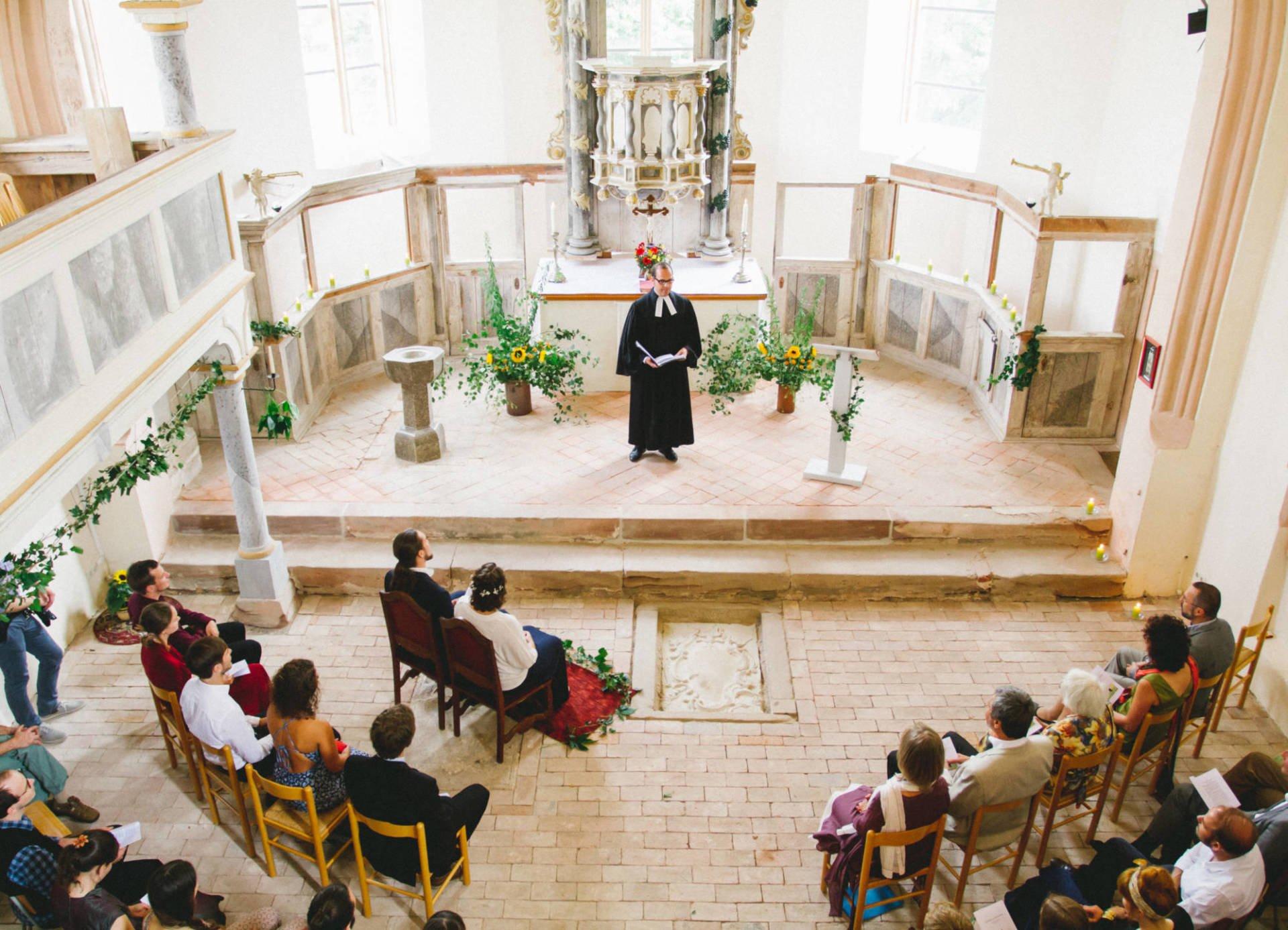 Hochzeitsreportage | Hochzeit in Kreuzgewölbe Schöngleina | 4