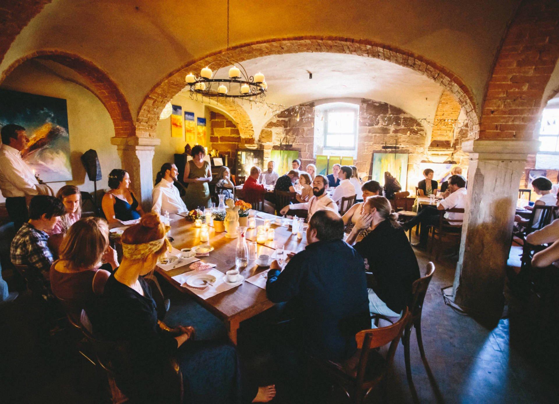 Hochzeitsreportage | Hochzeit in Kreuzgewölbe Schöngleina | 38