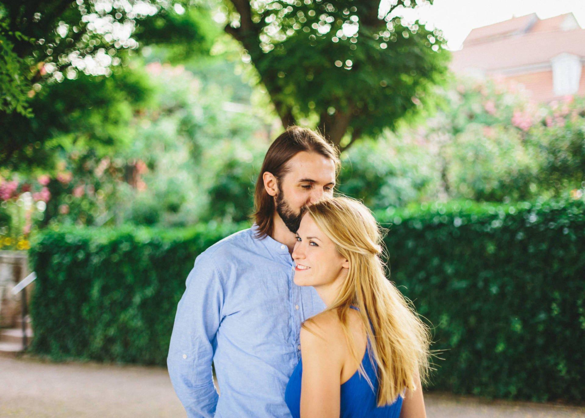 Verlobungsshooting bei den Dornburger Schlössern