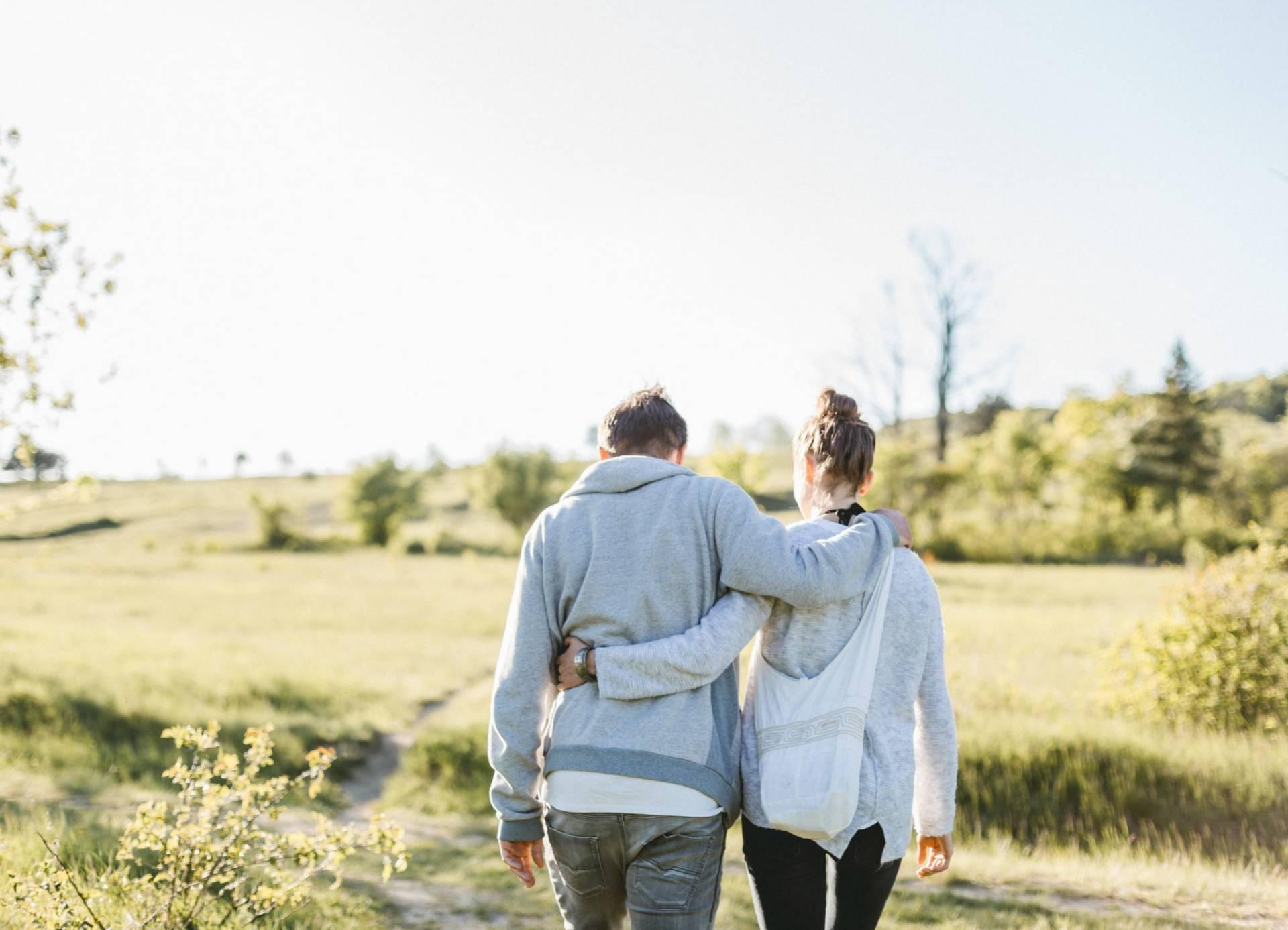 Liebesgeschichte, Portfolio | Verlobungsshooting auf dem Windknollen | 1