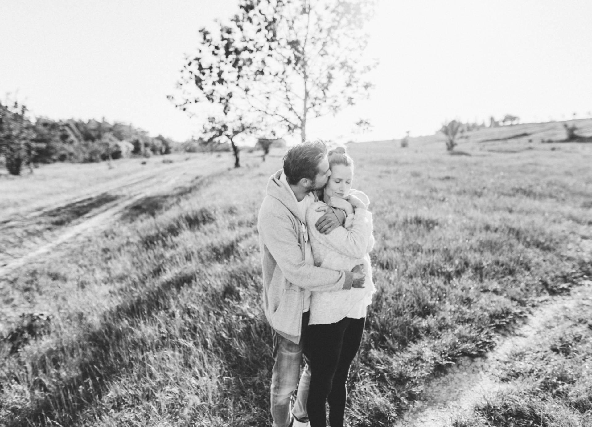 Liebesgeschichte, Portfolio | Verlobungsshooting auf dem Windknollen | 5