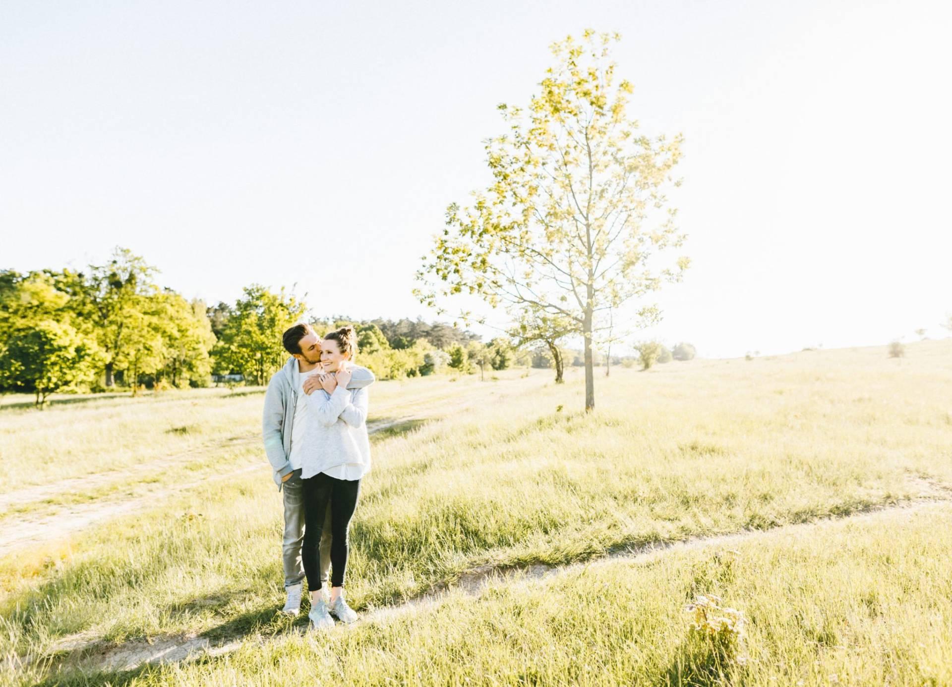 Liebesgeschichte, Portfolio | Verlobungsshooting auf dem Windknollen | 6