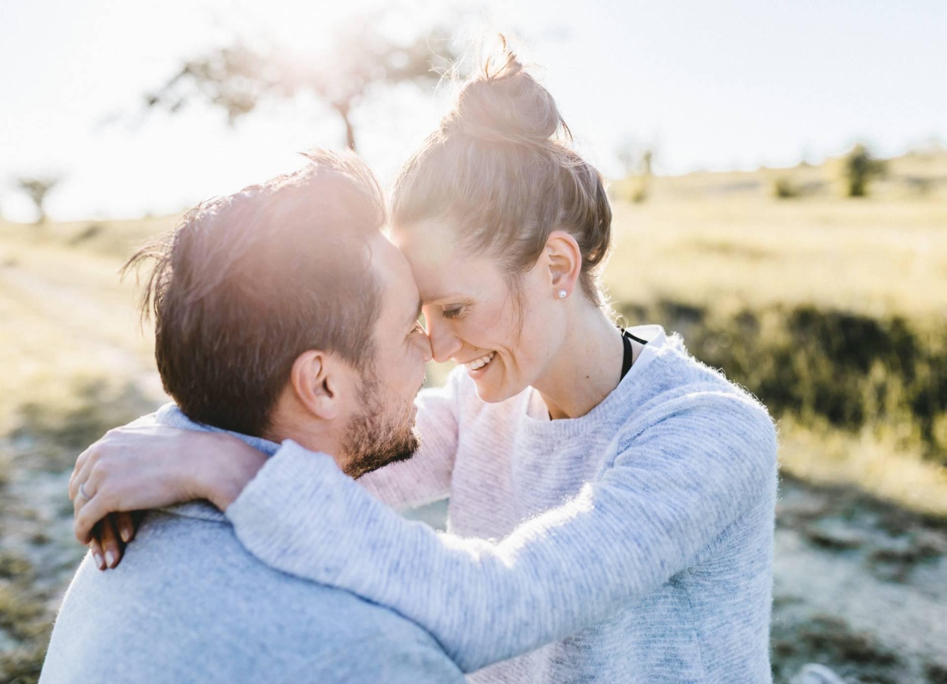 Verlobungsshooting auf dem Windknollen