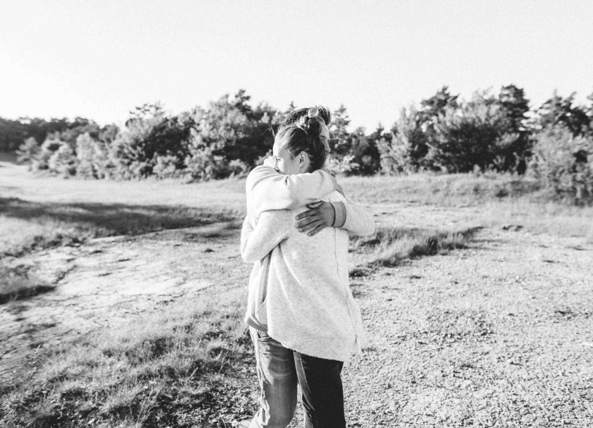 Liebesgeschichte, Portfolio | Verlobungsshooting auf dem Windknollen | 29