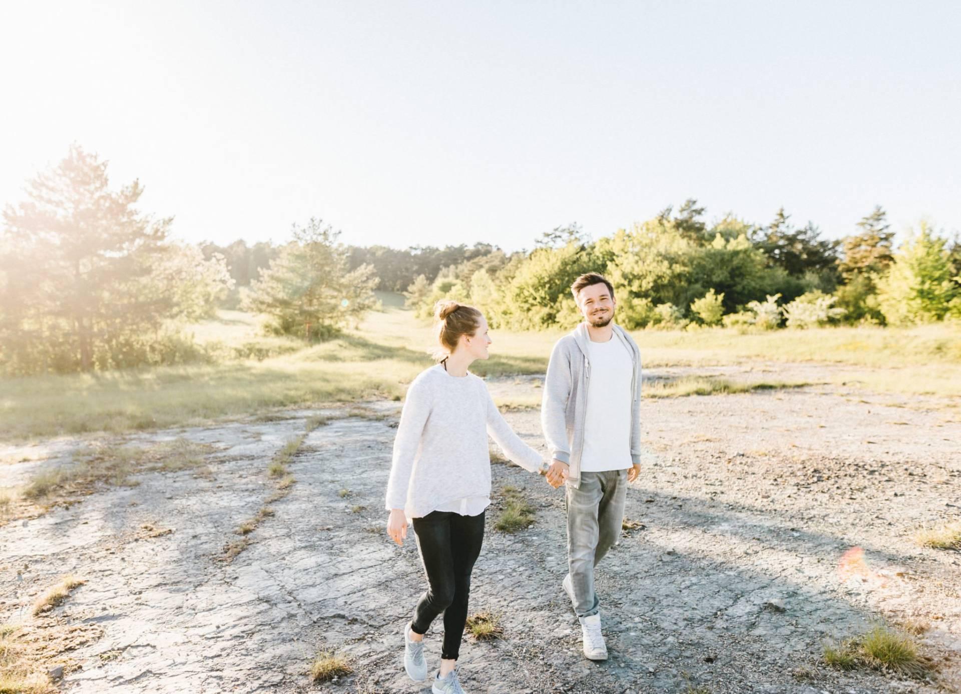 Liebesgeschichte, Portfolio | Verlobungsshooting auf dem Windknollen | 32
