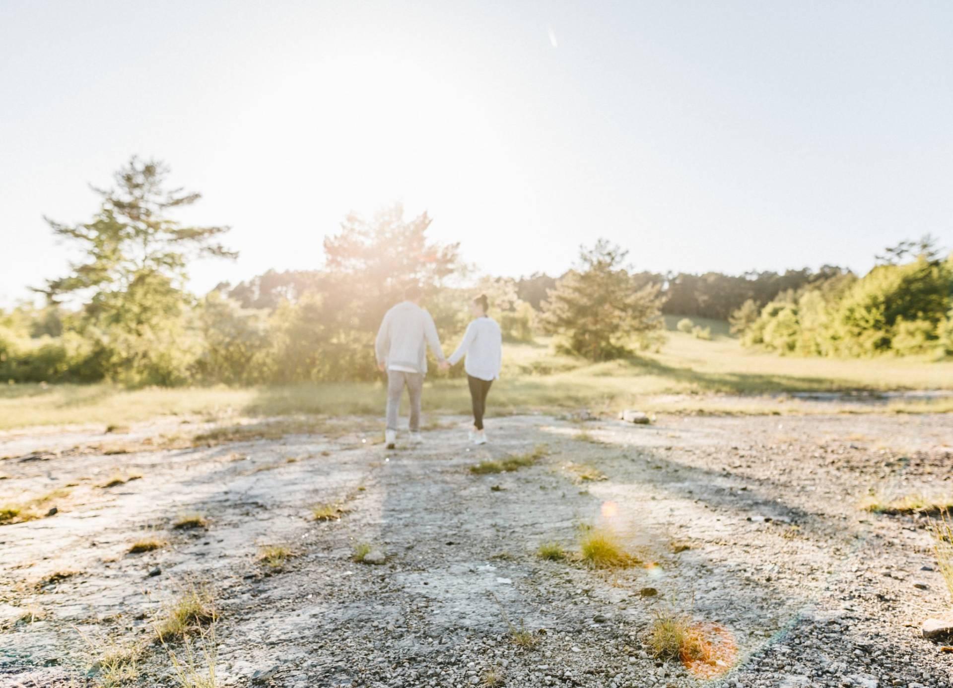Liebesgeschichte, Portfolio | Verlobungsshooting auf dem Windknollen | 33