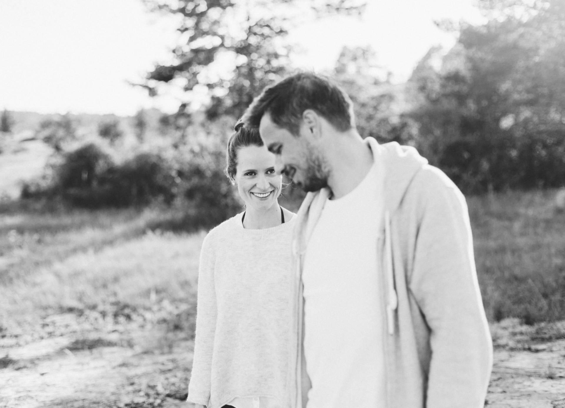 Liebesgeschichte, Portfolio | Verlobungsshooting auf dem Windknollen | 38