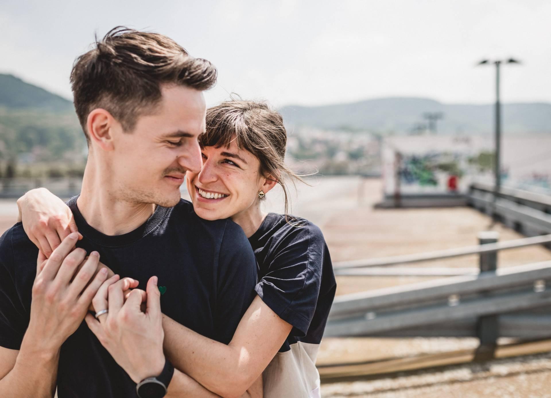 Liebesgeschichte auf der Jenaer Schillerpassage