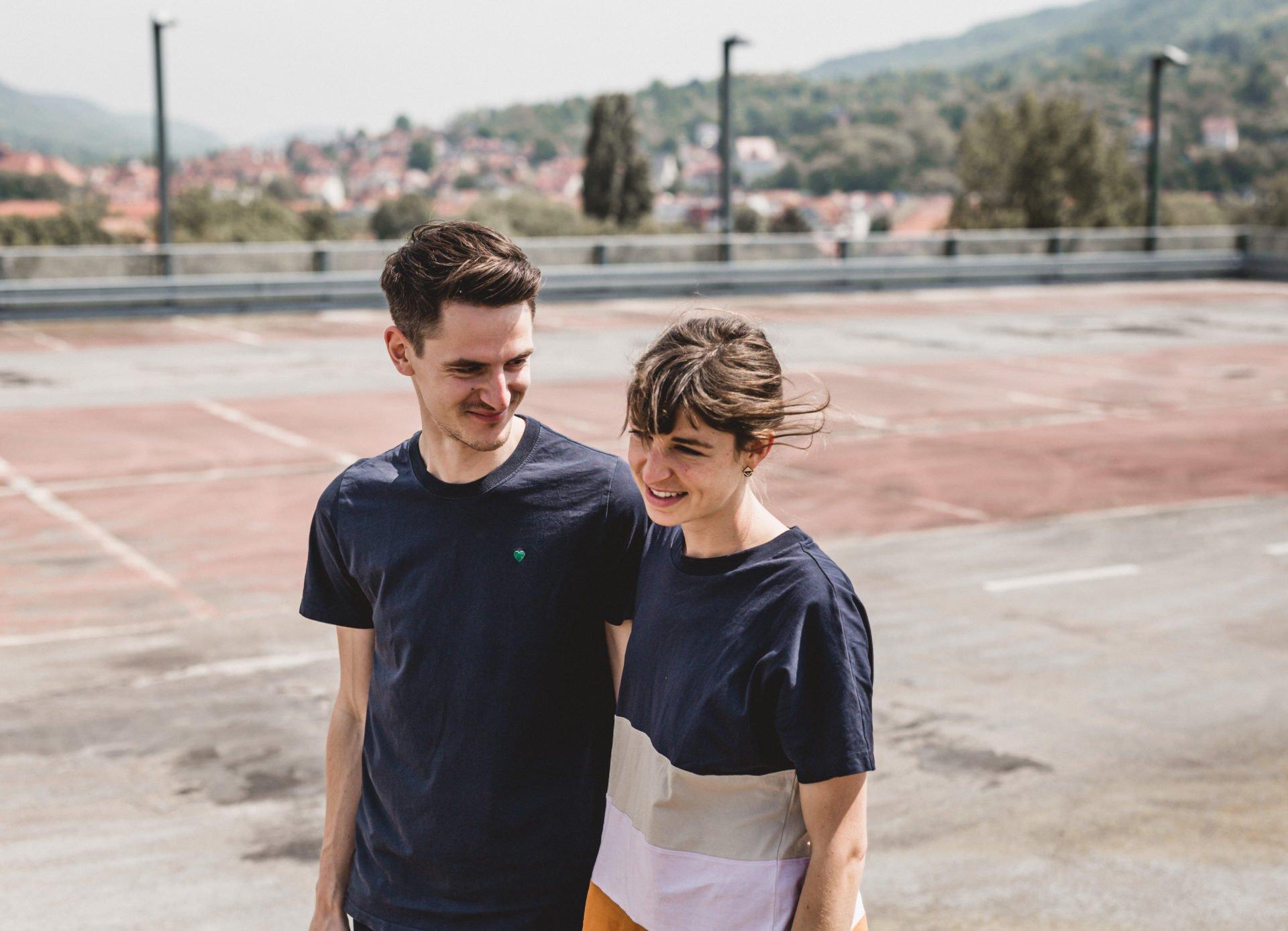 Liebesgeschichte | Liebesgeschichte auf der Jenaer Schillerpassage | 33