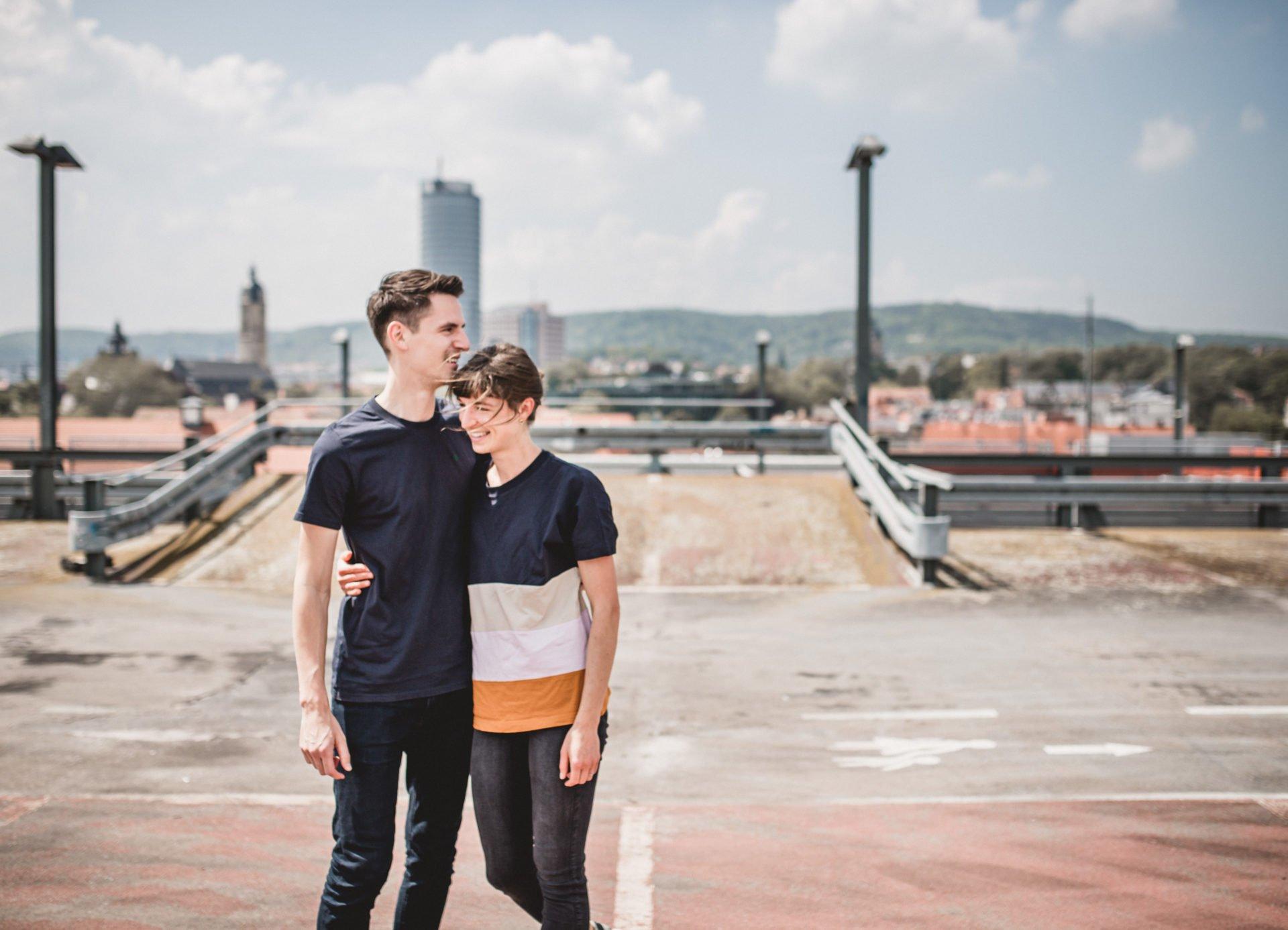 Liebesgeschichte | Liebesgeschichte auf der Jenaer Schillerpassage | 28