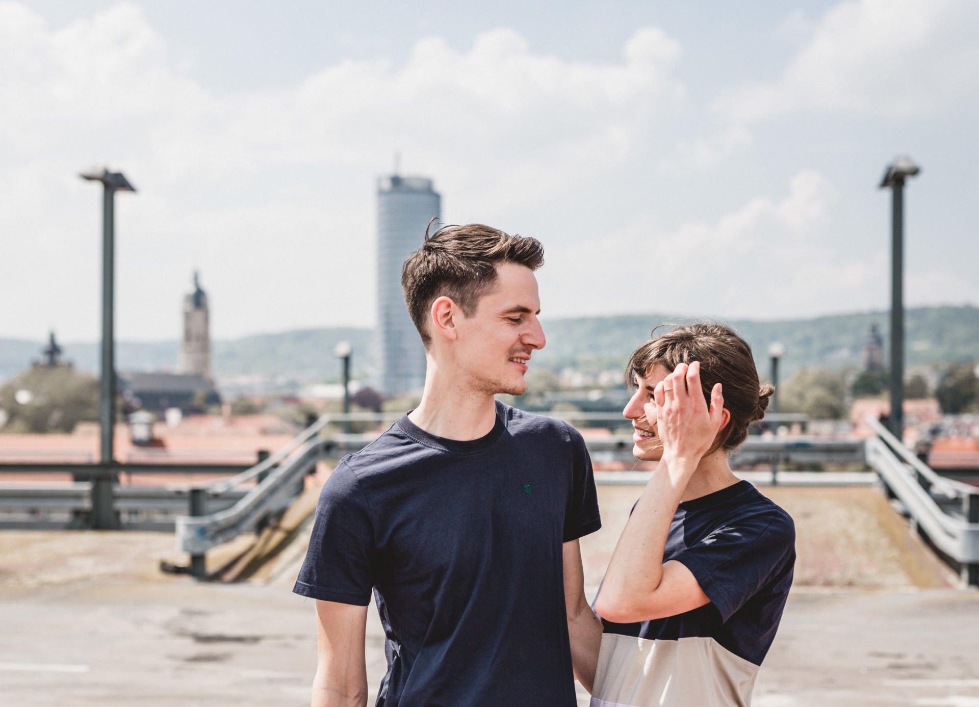 Liebesgeschichte | Liebesgeschichte auf der Jenaer Schillerpassage | 19