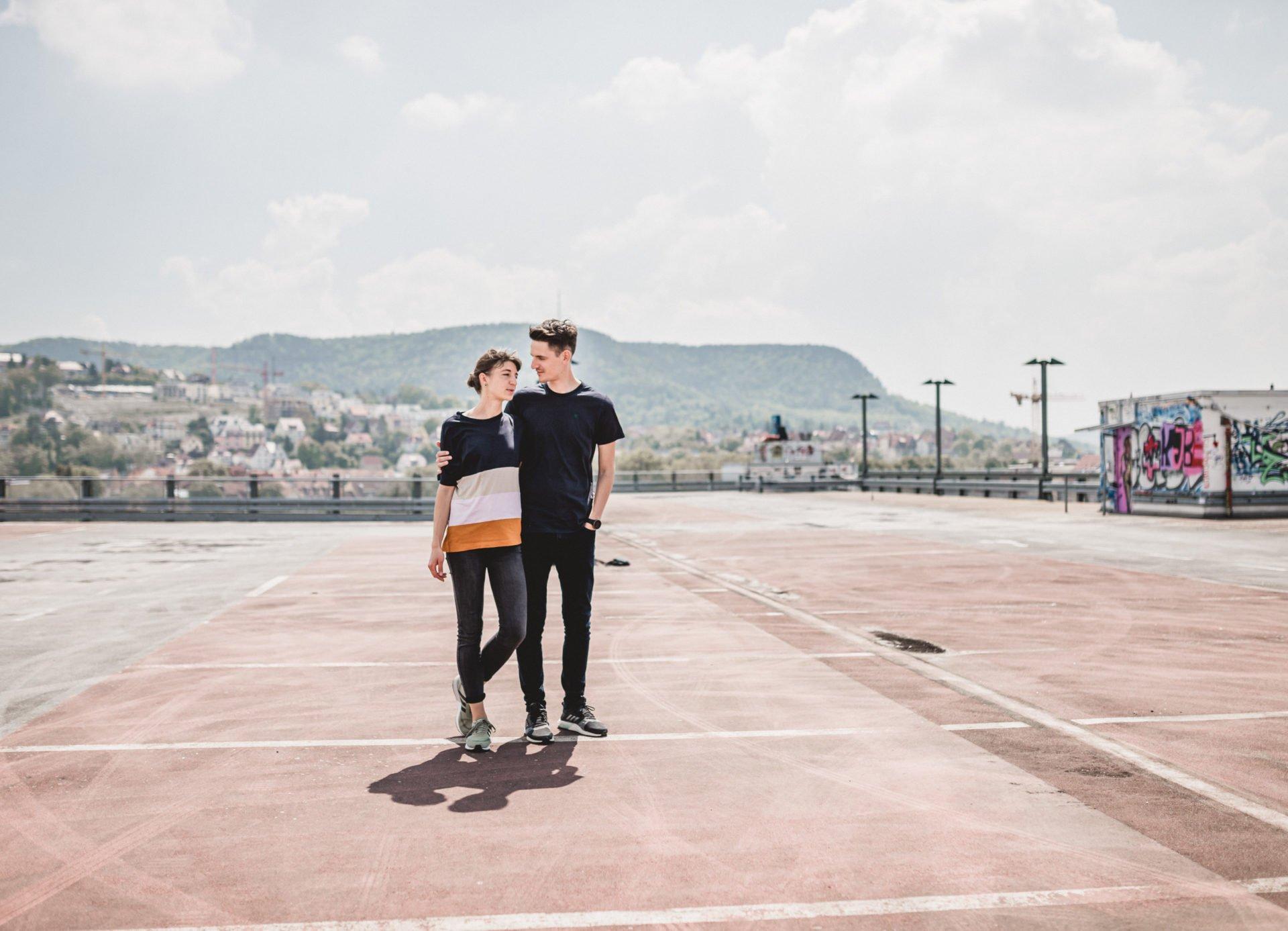 Liebesgeschichte | Liebesgeschichte auf der Jenaer Schillerpassage | 14