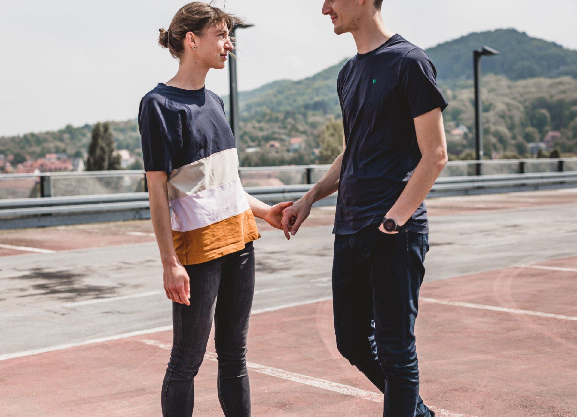 Liebesgeschichte | Liebesgeschichte auf der Jenaer Schillerpassage | 12
