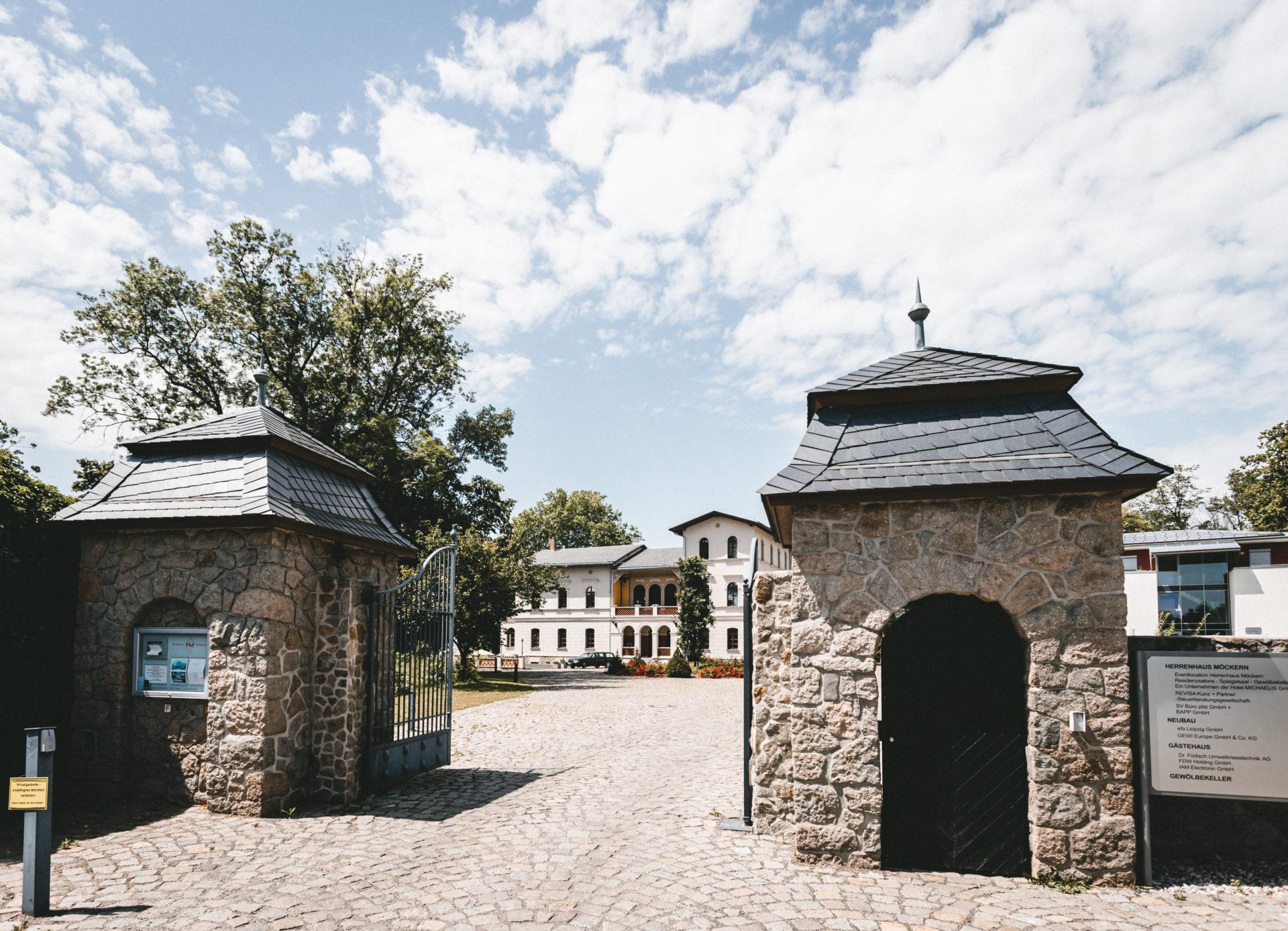 das Herrenhaus Möckern in Leipzig