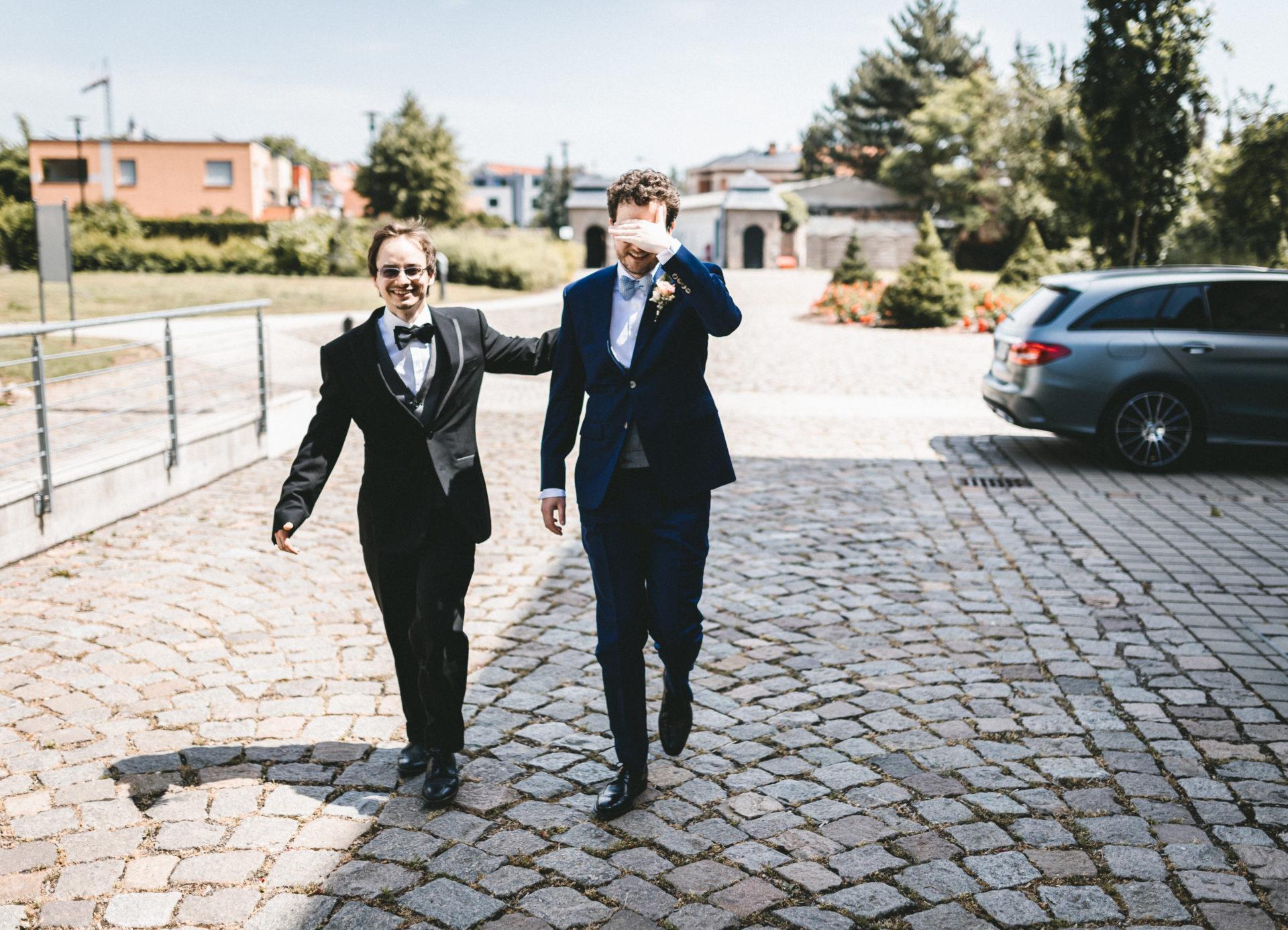 Hochzeitsreportage, Portfolio | Freie Trauung im Herrenhaus Möckern in Leipzig | 2