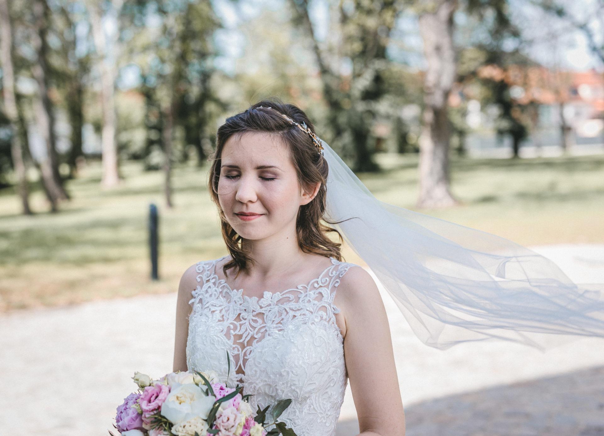 Hochzeitsreportage, Portfolio | Freie Trauung im Herrenhaus Möckern in Leipzig | 3