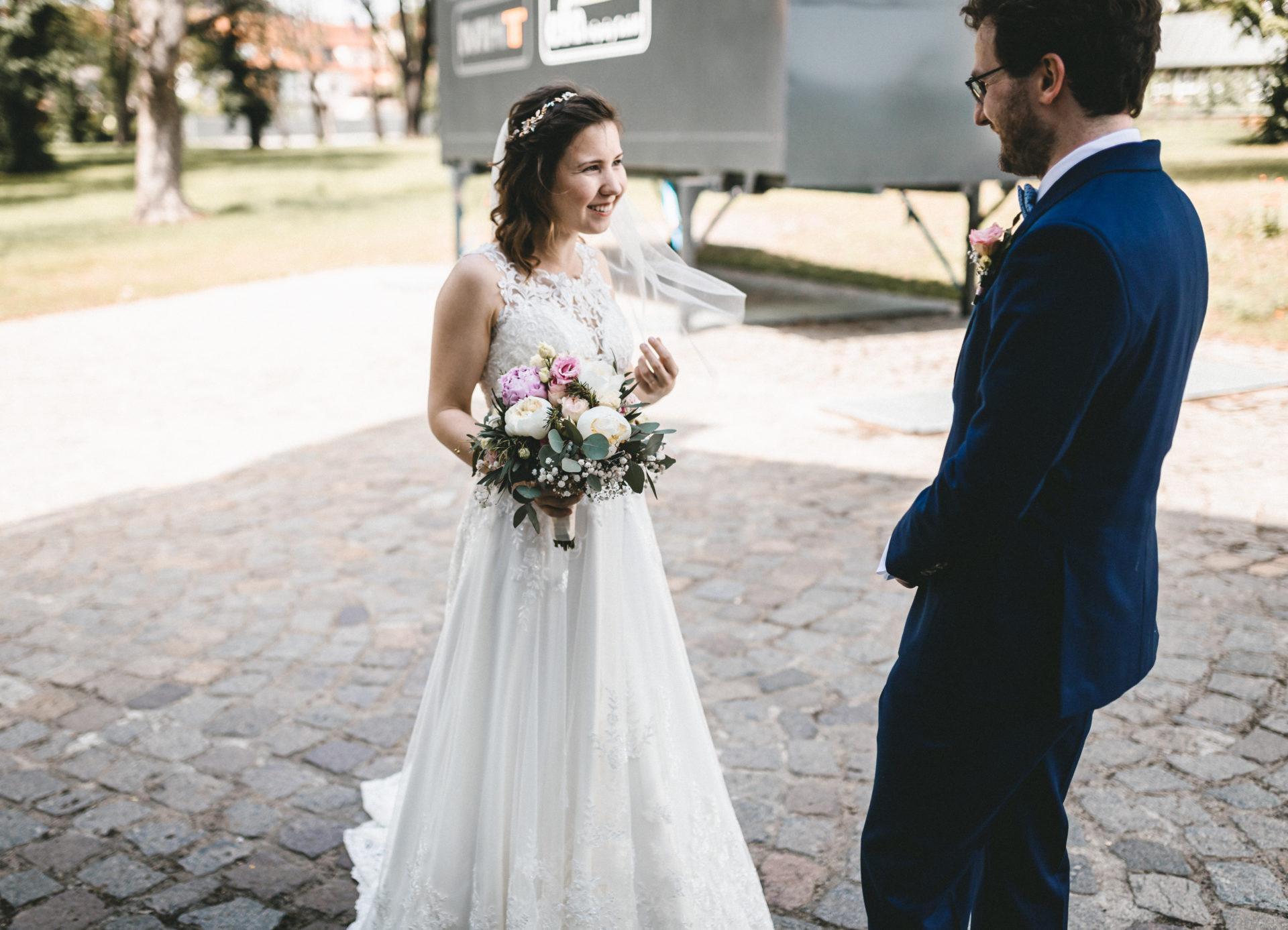 Hochzeitsreportage, Portfolio | Freie Trauung im Herrenhaus Möckern in Leipzig | 6