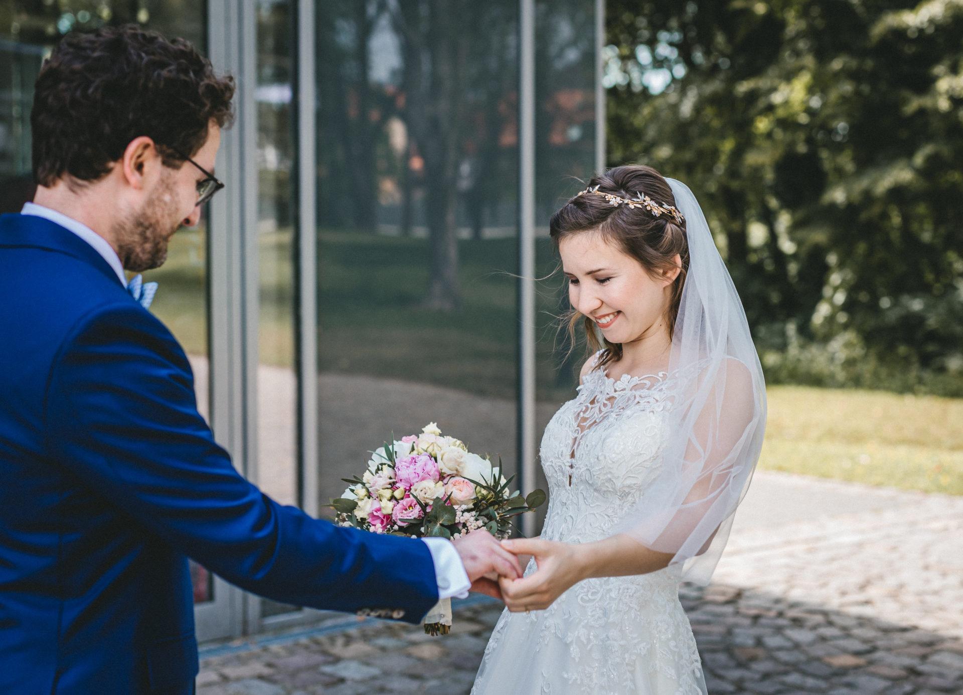 Hochzeitsreportage, Portfolio | Freie Trauung im Herrenhaus Möckern in Leipzig | 7