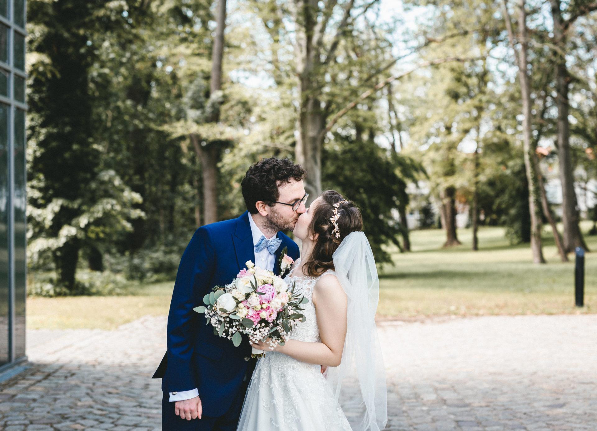 Hochzeitsreportage, Portfolio | Freie Trauung im Herrenhaus Möckern in Leipzig | 9
