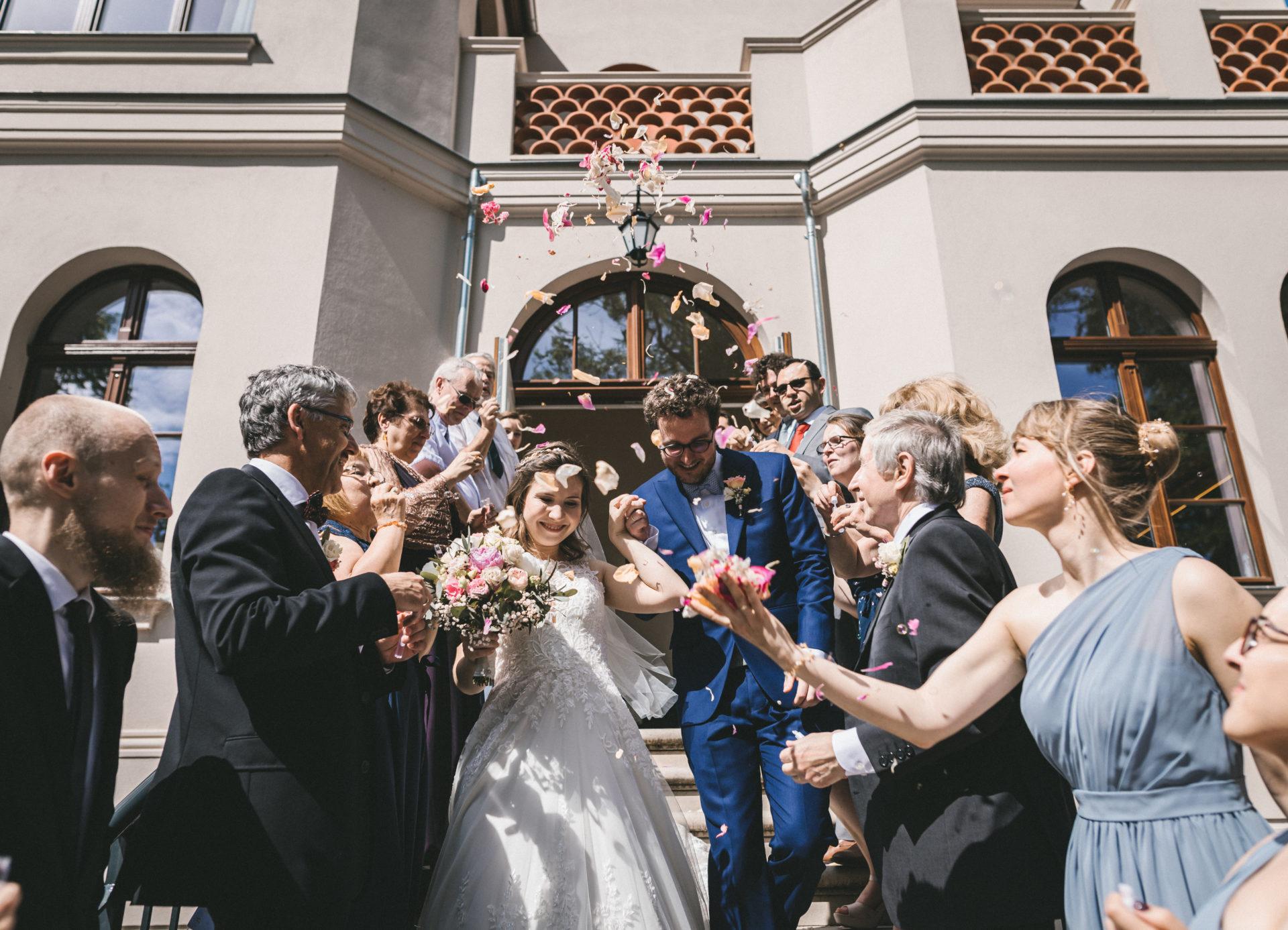 Hochzeitsreportage, Portfolio | Freie Trauung im Herrenhaus Möckern in Leipzig | 29